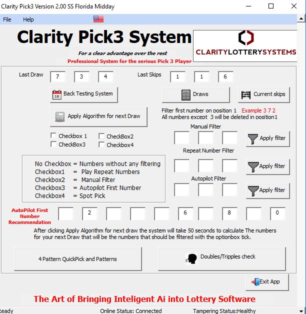Claritylotterysystems - Clarity Pick3 System & Lotto Clarity